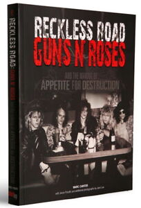 Guns-N-Roses-flyer-poster-ticket-autographed-Reckless-Road-book-Slash-Axl-Rose