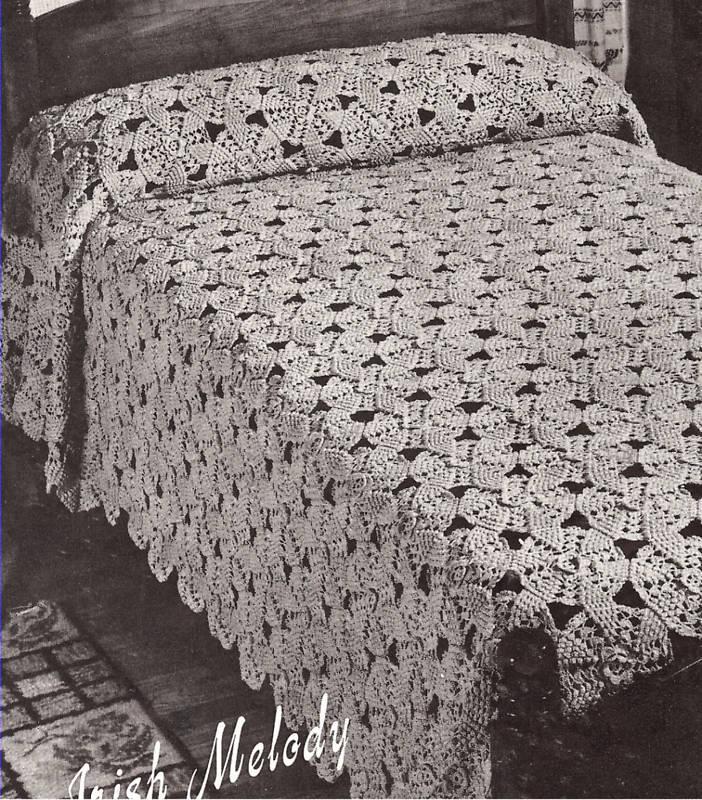 Crochet History - Victorian & Edwradian Crochet - Irish Crochet