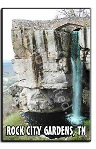 ROCK CITY GARDENS - Tennessee TN Souvenir Fridge Magnet