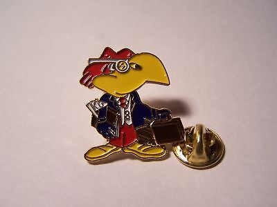 Ncaa Big 12 Kansas University Ku Jayhawk Business Pin