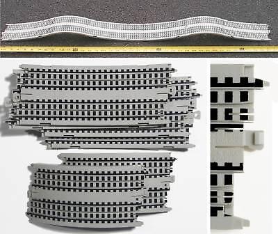 6pc 3 Feet Long Tyco Mattel Ho Slot Car X2 Hump Bump Dipsy-doodle Track Unused
