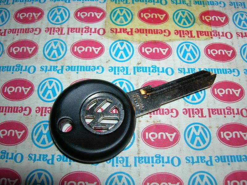 Vw Rabbit Jetta Caddy Pickup Vw Logo Steel Key Blank