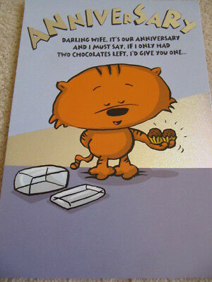HALLMARK-EATING-CHOCOLATES-3-FOLD-ANNIVERSARY-CARD