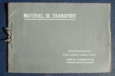 GABRIEL PERNEY TRAILER BODYWORK FRENCH SALES BROCHURE