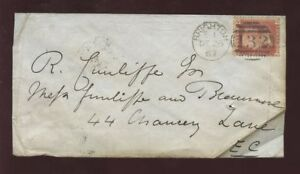 Sussex-BRIGHTON-1867-PENNY-RED-COVER-CLEAR-HOVE-CDS