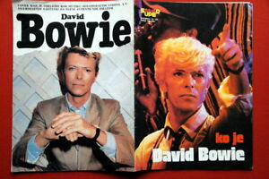 DAVID BOWIE ON 52 PAGES+COVER 80'S RARE EXYU MAGAZINE