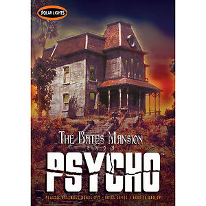 Polar-Lights-PSYCHO-Bates-Mansion-model-kit-1-87-HO-scale
