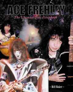 KISS-ACE-FREHLEY-Ultimate-Fan-Scrapbook-128-pg-huge-book-Ace-regrets-companion