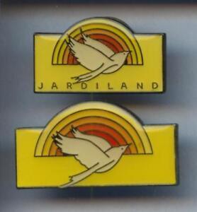 2-RARES-PINS-PIN-039-S-ANIMAL-PIGEON-COLOMBE-FLEUR-JARDIN-2T