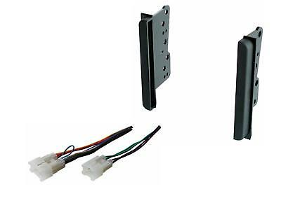 Double Din Dash Install Radio Kit Wire Harness Fitted For Toyota Scion Subaru