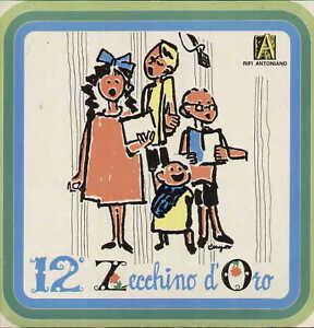 ZECCHINO-D-039-ORO-n-12-Antoniano-1970-originale-LP-nuovo-con-INSERTO