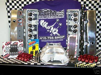 Sbc Aluminum Head Retrofit Hyd Roller Chevy Engine Kit