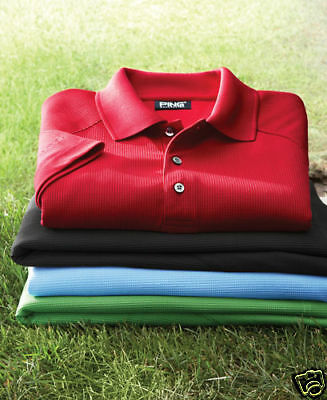 {2} Ping Golf Mens Size Xxxxl Dry Fiber Dri Fit Polo Sport Shirts 4xl $120