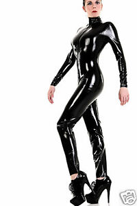 latex gummi rubber catsuit overall ganzanzug farbe schwarz color black ebay. Black Bedroom Furniture Sets. Home Design Ideas