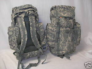 NEW - Military Mission Tactical MOLLE Survival Backpack - ACU Army Digital Camo