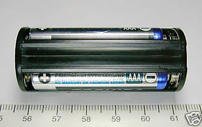 5pc-Plastic-Battery-Holder-Cassette-BH-432-AAA-R03P-UM-4-1-5Vx3-COMF-Taiwan