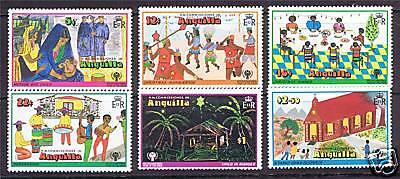 Anguilla 1978 Christmas SG 331/6 MNH
