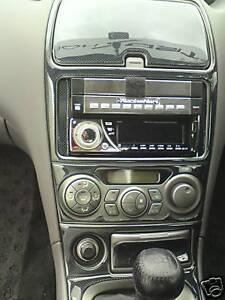 2003 2004 2005 toyota celica interior zzt23 carbon fibre fiber dash trim kit set ebay