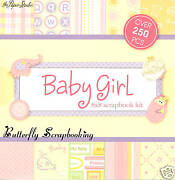 Baby Girl Scrapbook Kit