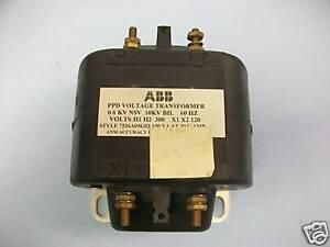 Abb 7526a05g03 Ppd Voltage Transformer 300 520 Volts Ebay