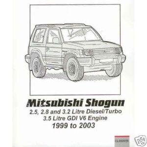 Mitsubishi-Shogun-Pajero-Montero-petrol-diesel-99-03