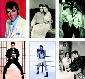 Elvis-Presley-6-Card-POSTCARD-Set-Vol-I