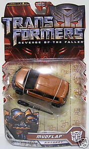 MUDFLAP-Transformers-ROTF-Movie-2-Deluxe-Class-Autobot-Figure-Variant-Plate-2009