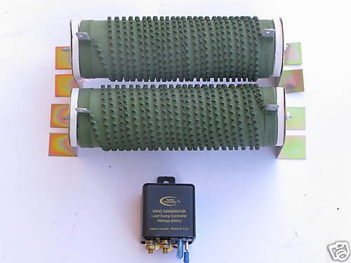 Wind generator/Solar charge system load dump controller