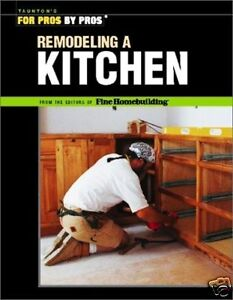 Install Remodel or New Complete KITCHENS Pro Book NEW