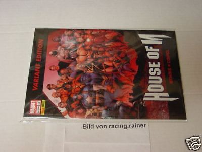House of M Variantcover Nr.1 (Panini) Spider-Man  X-Men
