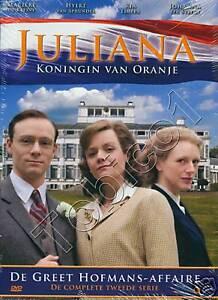 JULIANA-KONINGIN-VAN-ORANJE-SERIE-2-DE-GREET-HOFMANS-AFFAIRE-DVD-SEALED