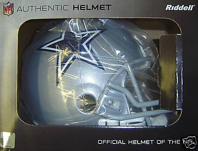 Dallas Cowboys Nfl Football Riddell Authentic Pro Line Helmet In Factory Box