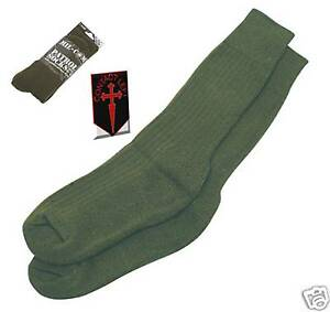 NEW-OLIVE-GREEN-BRITISH-MILITARY-INFANTRY-PATROL-SOCKS
