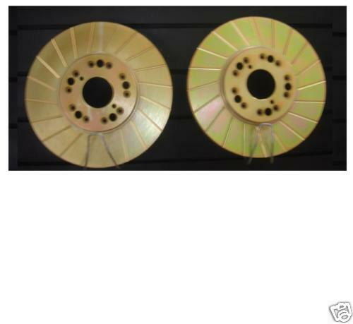 LEXUS SC430 BRAKE DISCS FRONT PERFOMANCE GROOVED BRAKE DISC X2