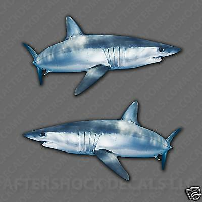 Shark Sticker Mako Decal Ocean