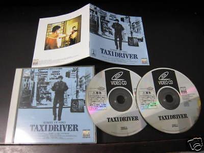 Film Taxi Driver Japan Video CD Scorsese Robert De Niro