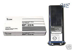 NEW-ICOM-BP-224-7-2V-750mA-Battery-Pack-for-IC-M2A-IC-GM1600-IC-M32-IC-M31
