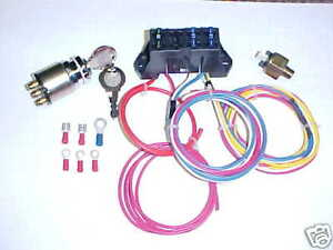 chopper wiring harness electrical components ebay XS650 Wiring -Diagram  Ironhead Chopper Wiring Diagram 2007 Sportster Wire Harness Routing 1998 Sportster Harness Wires