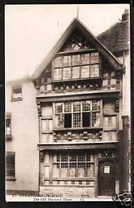 LL-Levy-Stratford-on-Avon-15-Old-Harvard-House-Sepia