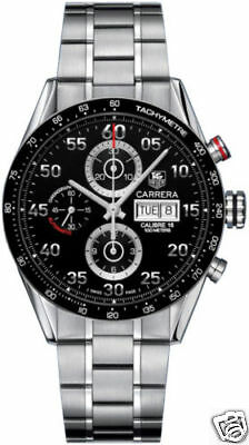 TAG HEUER CARRERA CV2A10.BA0796 DAY DATE AUTOMATIC CHRONOGRAPH MENS WATCH