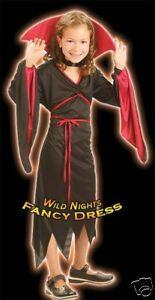 HALLOWEEN FANCY DRESS FUN GIRLS BEE-WARE WITCH MED 6-8