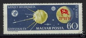 Hungary-1959-SG-1605-Russian-Rocket-On-Moon-MNH