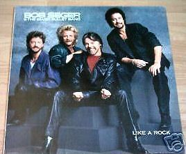 BOB SEGER & THE SILVER BULLET BAND - LIKE A ROCK - LP