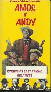 VHS-AMOS-N-ANDY-Kingfishs-Last-Friend-Relatives