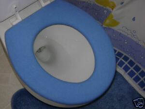 Toilet Seat Warmer Cover  Washable Blue 24 available colors LifeLong Needs Seats Colors eBay