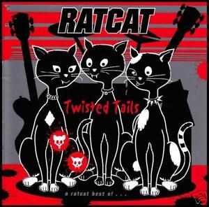 RATCAT (2 CD) TWISTED TAILS : BEST OF RAT CAT CD ~ 90's AUSSIE NEW WAVE *NEW*