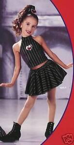 Heart Dance Dress Costume Jazz Tap CLEARANCE Adult Medium & Large