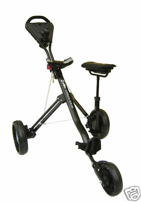 Golf-Buggy-Trolley-Suspension-3rd-Wheel-Brake-Compartment-Seat-Water-Bottle