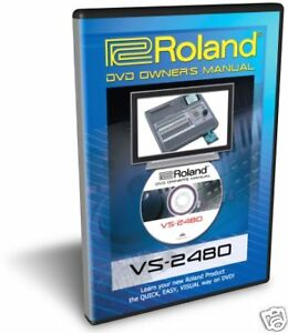Roland VS-2480 DVD Training Tutorial Manual Help