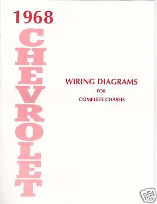 1968 Chevrolet Wiring Diagram Manual